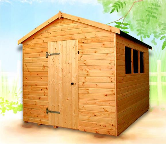 Major cobertizos cat logo garden house madera for Cobertizo de madera tratada