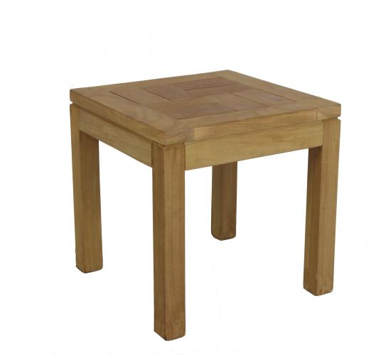 Mesas auxiliares teca mobiliario exterior cat logo - Mesas de teca exterior ...