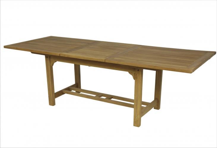Mesa rectangular de teca mobiliario exterior cat logo - Mesas de teca exterior ...