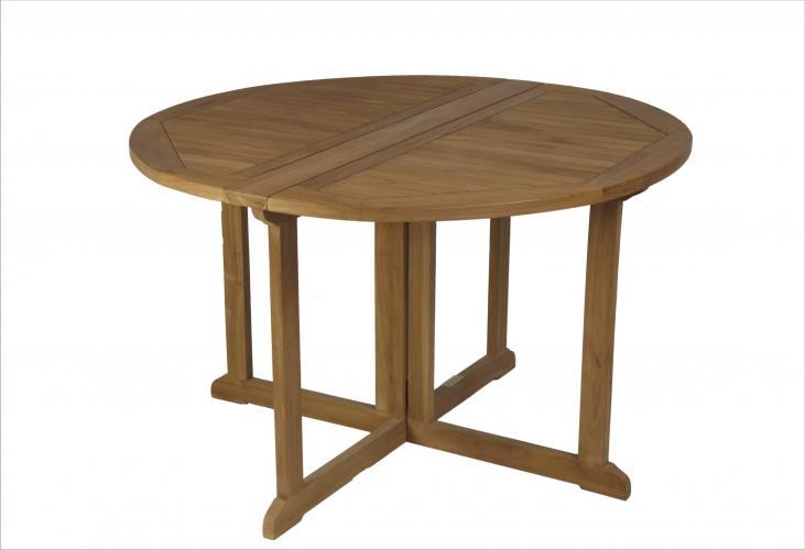 Mesas redonda plegable mobiliario exterior cat logo - Mesa plegable exterior ...