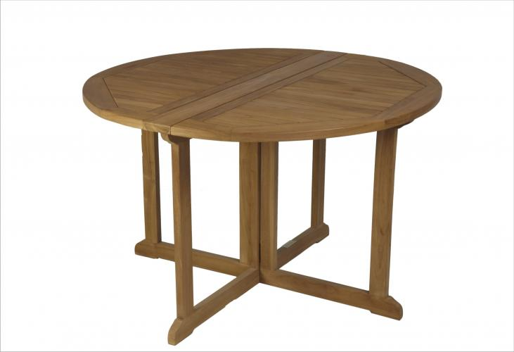 Mesas redonda plegable mobiliario exterior cat logo - Mesa redonda exterior ...