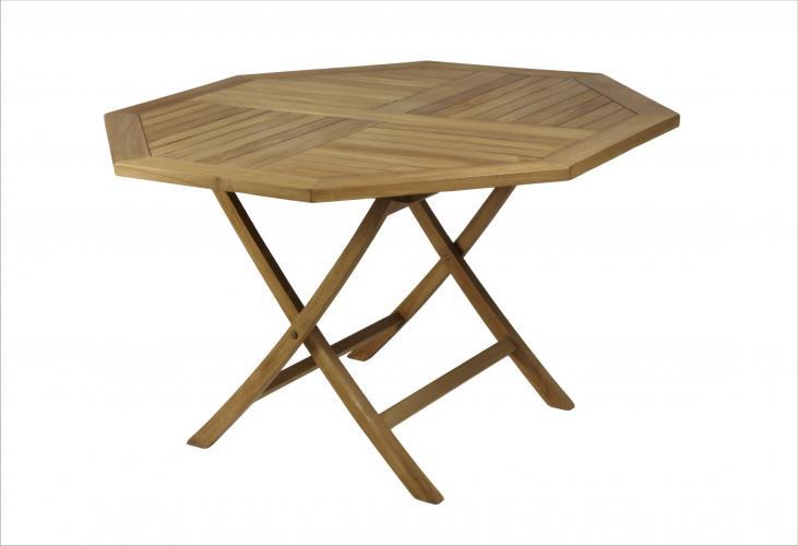 Mesa octogonal plegable mobiliario exterior cat logo - Mesas plegables exterior ...