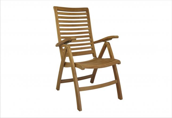 Sill n buckingham mobiliario exterior cat logo for Sillon madera exterior